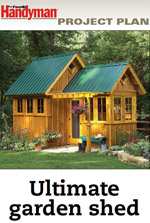 Ultimate Garden Shed Plan Photo