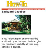 Backyard Gazebo Plan Picture