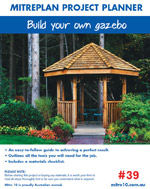 Garden Gazebo Plan Photo