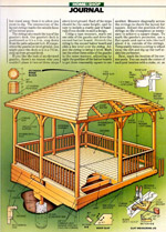 Outdoor Gazebo Plan Picture