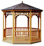 Seaside Round Gazebo Kits