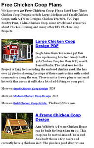 Chicken Coop Plans Photo