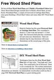 Woodshed Plans Image
