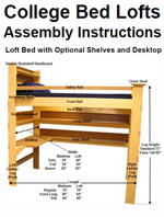 20+ Free Loft Bed Plans How to Build a Loft Bed