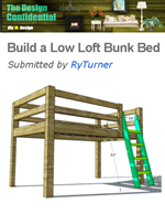 low loft bed design