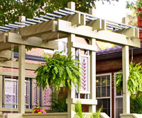 Jim Eyebrow Pergola Woodworking Plan