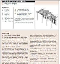 Pergola Design Plans PDF Picture