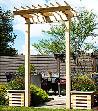 Free pergola plans how to build a pergola Construire une pergola