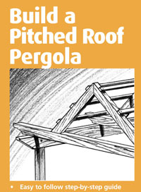 Pitched Roof Pergola Design
