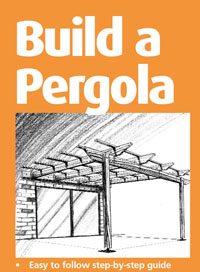 attached pergola plans free download