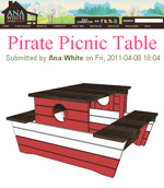 Free Printable Picnic Table Plans | Beginner Woodworking Project