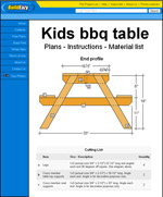 toddler picnic table plans