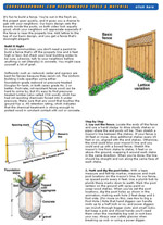 Basic Privacy Fence Picture