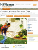 Build a Custom Privacy Fence Picture