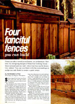 Wooden Privacy Fence Designs Picture