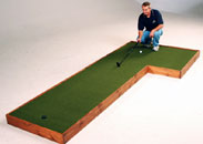 Indoor Putting Green Plans