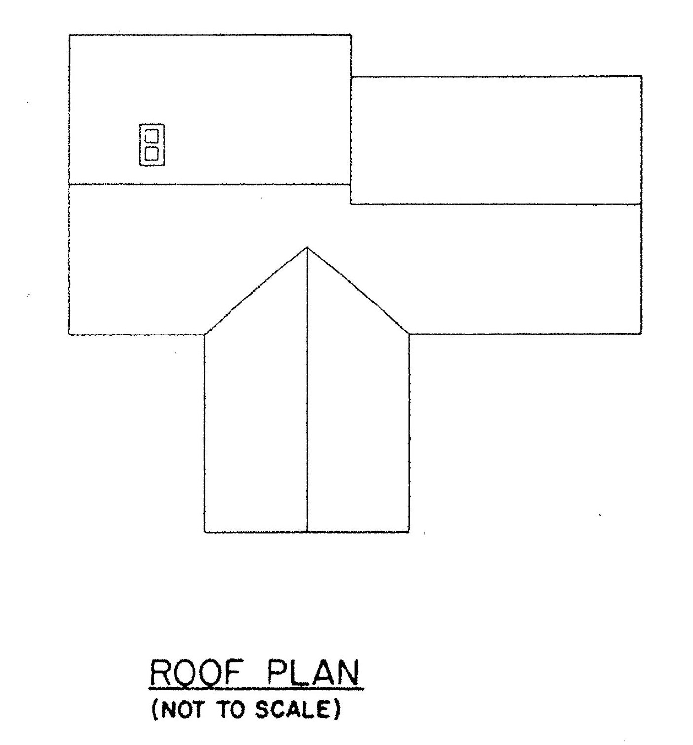 Free 3 bedroom ranch house plan with porch for sloped lot House layout design