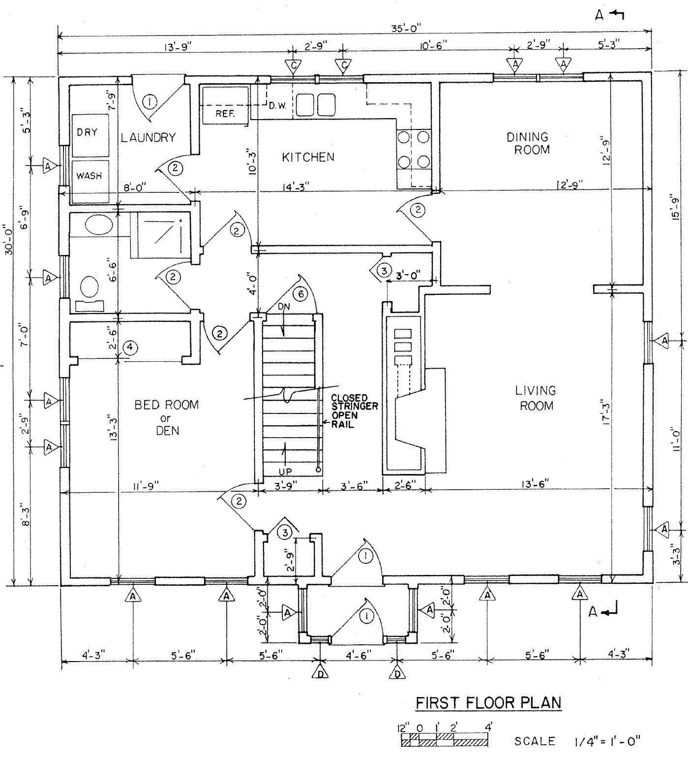 Free House Plans | Free Floor Plans | Home Plans
