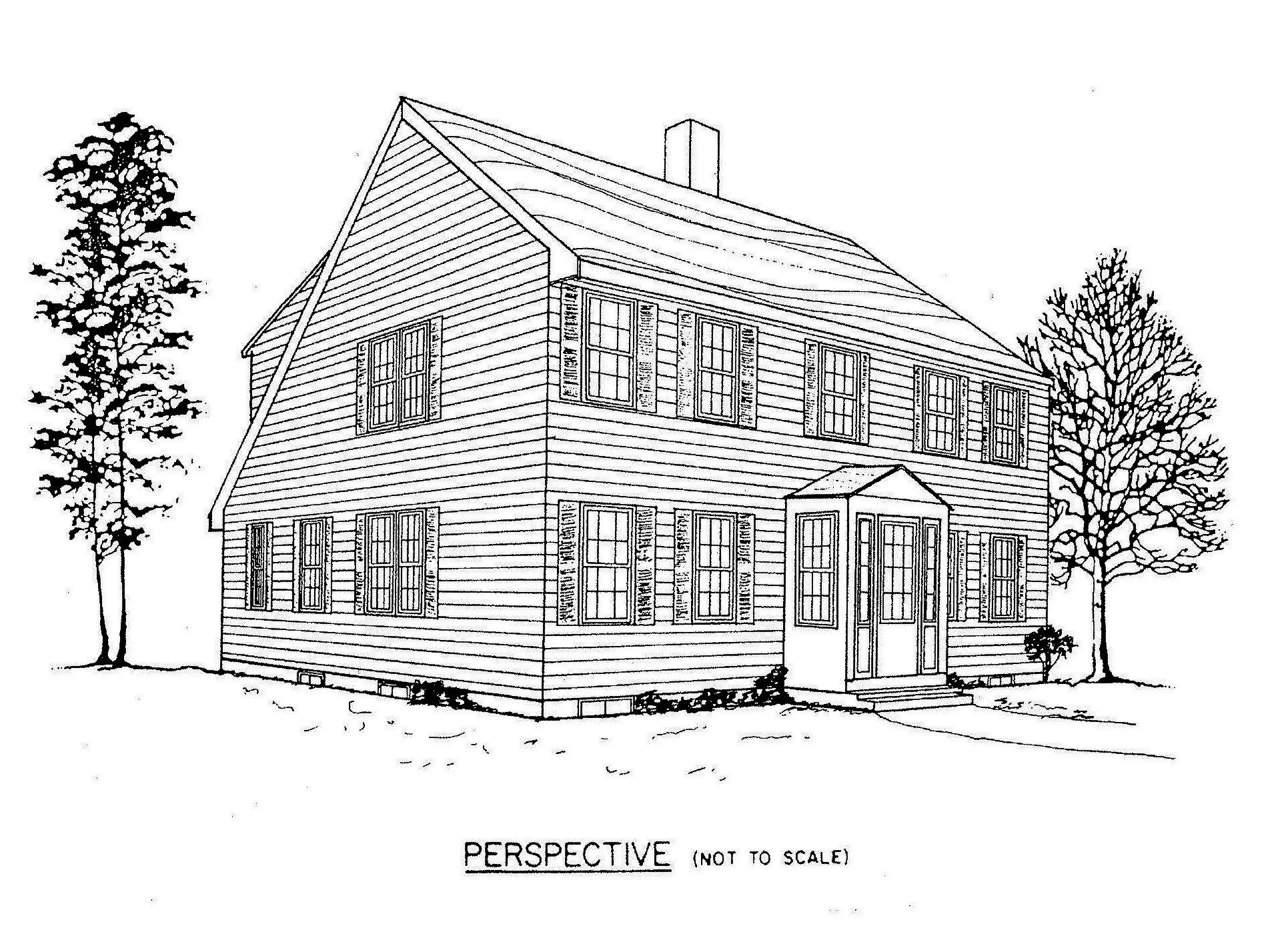 Saltbox House Plan