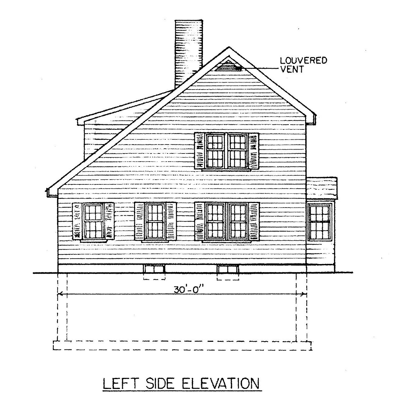 saltbox house plans villanova place salt box home plan ForSaltbox Plans