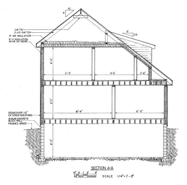 Saltbox House Floor Plans
