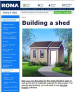 Build a Shed Photo