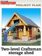 Craftsman Storage Shed Photo
