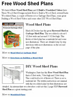 Wood Shed Plans Photo