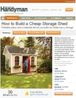 How to Build a Storage Shed Image