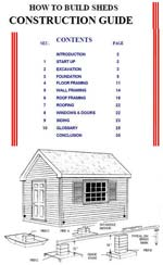 How to Build a Shed Photo