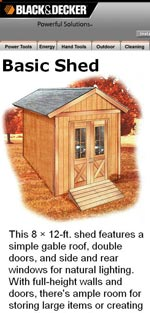 Free Shed Plans | How to Build a Shed