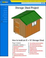 8x10 Storage Shed Photo