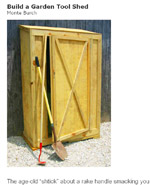 Build A Garden Tool Shed Image