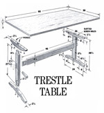 Trestle Table Plan Picture