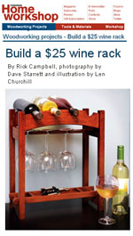 Build a Wine Rack Photo