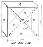 Woodwork Cube Wine Rack Plans PDF Plans