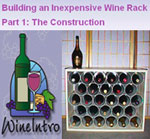 Build an Cheap Wine Rack