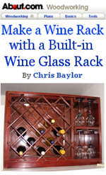 Build a Wine Rack and Glass Holder