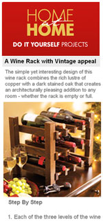 Vintage Winerack Plan