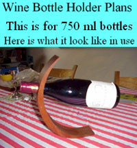 Free woodworking plans august 2014 - Wine bottle balancer plans ...